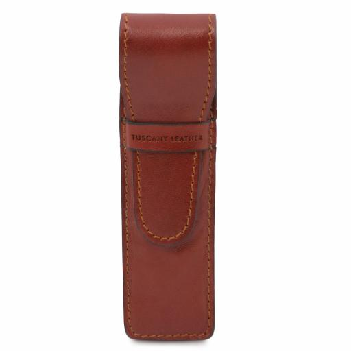 Exclusive leather pen holder