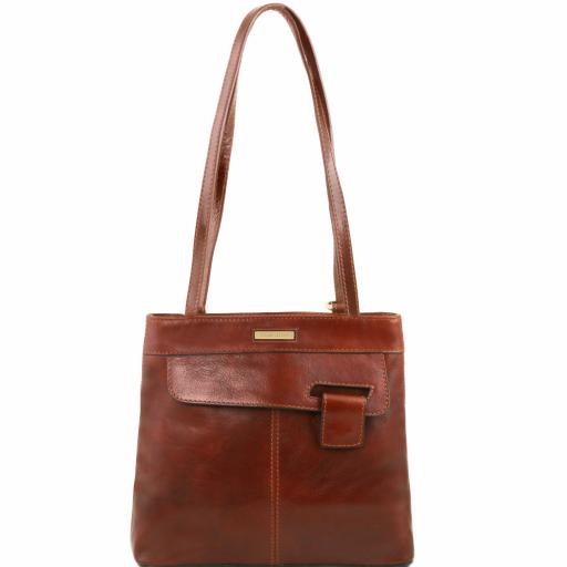 Martina Leather convertible bag