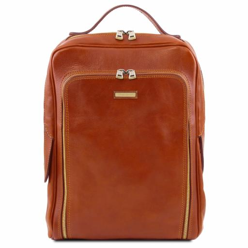 Bangkok Leather laptop backpack