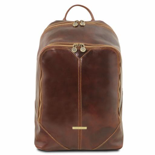Mumbai Leather backpack