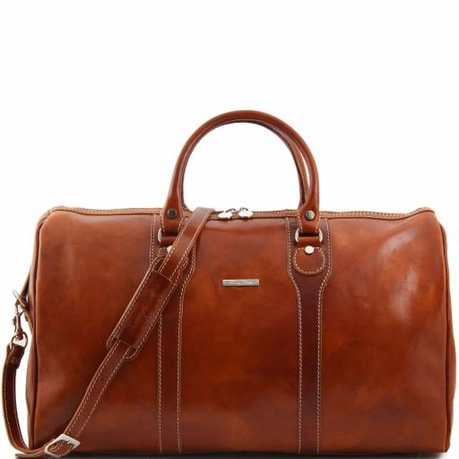 Oslo Travel leather duffle bag - Weekender bag