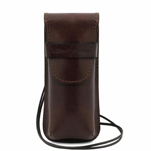 Exclusive leather eyeglasses/Smartphone/Watch holder