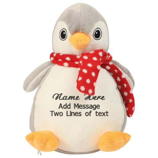 Penguin Personalised Plush Toy