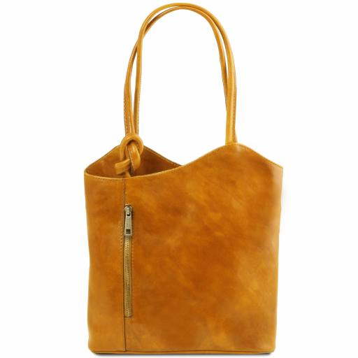 Patty Leather convertible bag