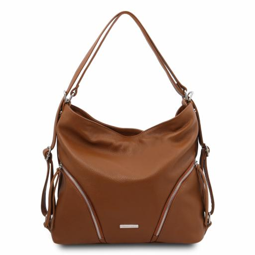 TL Bag Soft leather convertible shoulder bag
