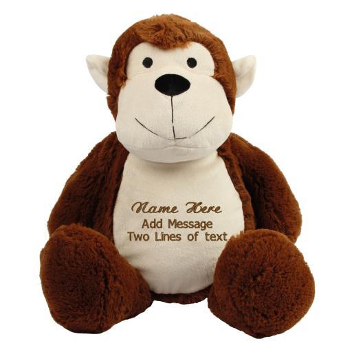 Zippie Personalised Monkey