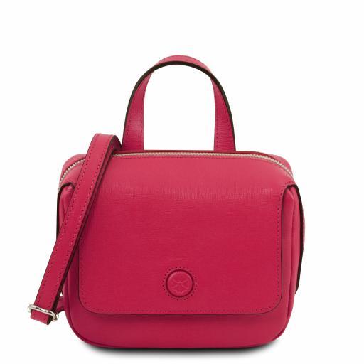Dalia Saffiano leather mini bag