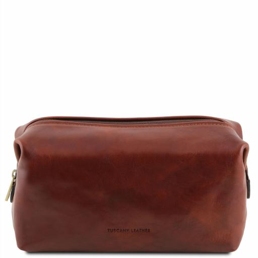 Smarty Leather toilet bag - Small size
