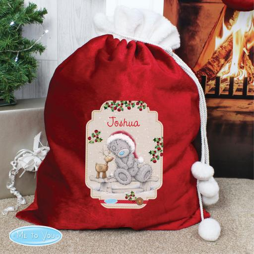 Me to You Reindeer Luxury Christmas Sack