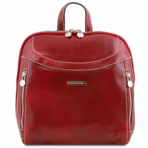 Manila Leather backpack