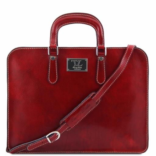 Alba Leather briefcase for women 1 compartment