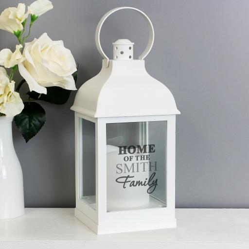 The Family Personalised Lantern