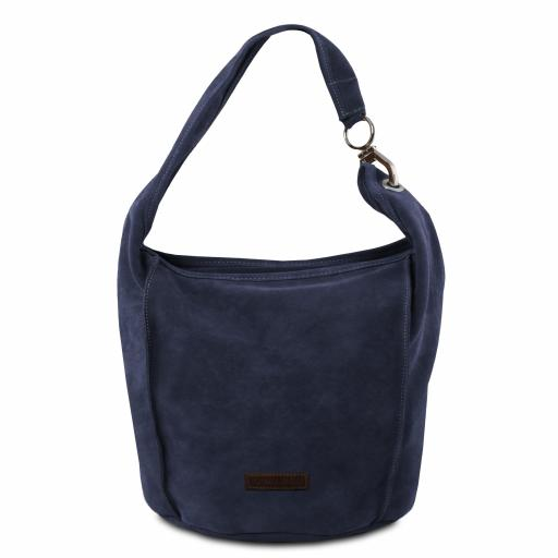 TL Bag Suede leather shoulder bag
