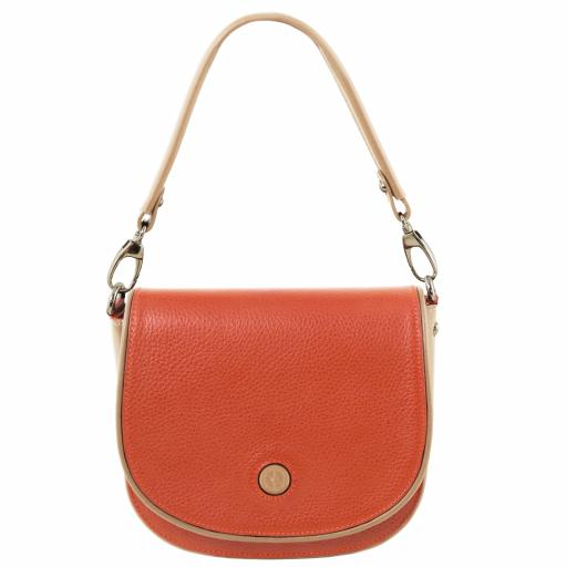 Rosa Leather clutch