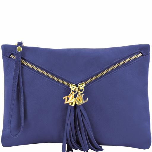 Audrey Leather clutch