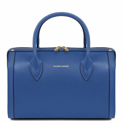 Elena Leather duffle bag