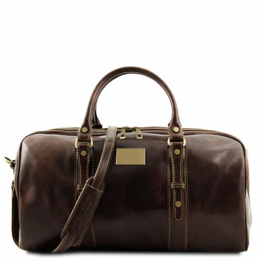 Francoforte Exclusive Leather Weekender Travel Bag - Small size