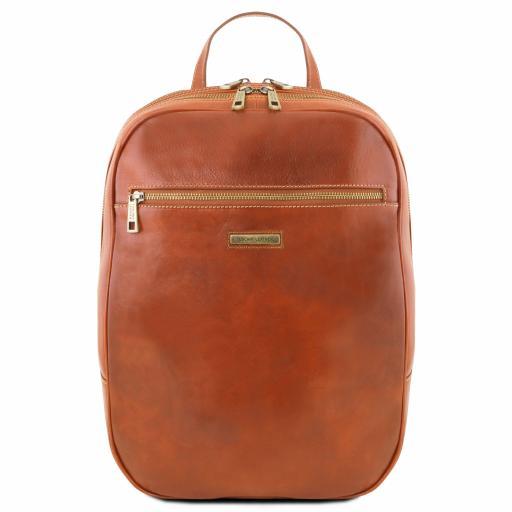 Osaka Leather laptop backpack