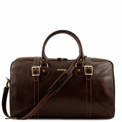 Berlin Travel leather duffle bag - Small size