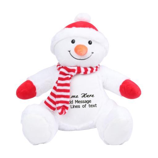 Zippie Personalised Snowman