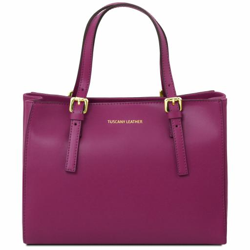Aura Leather handbag