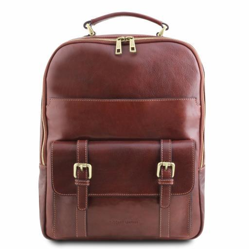 Nagoya Leather laptop backpack