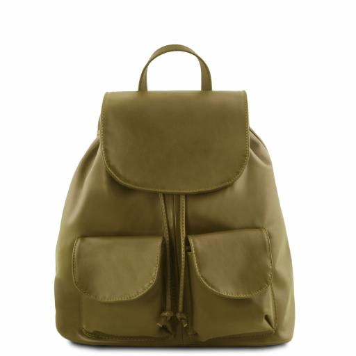 Seoul Leather backpack Small size