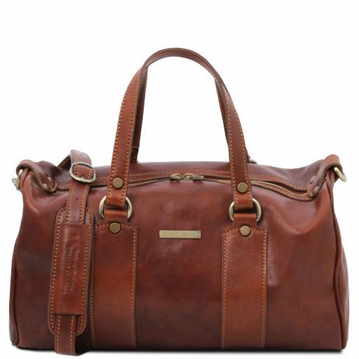 Lucrezia Leather maxi duffle bag