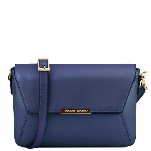 TL Bag Metallic Leather clutch handbag