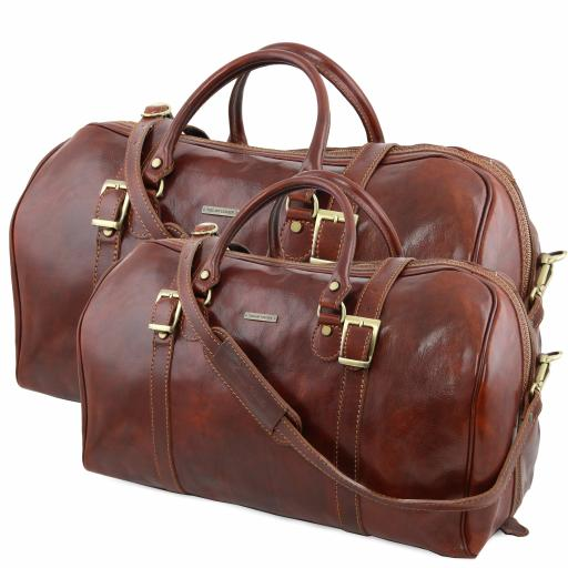 Berlin Leather travel set