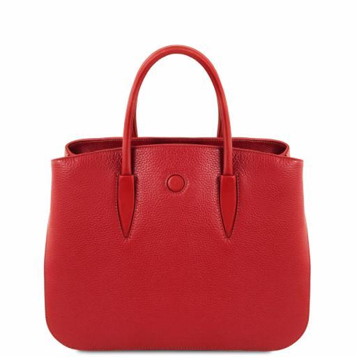 Camelia Leather handbag
