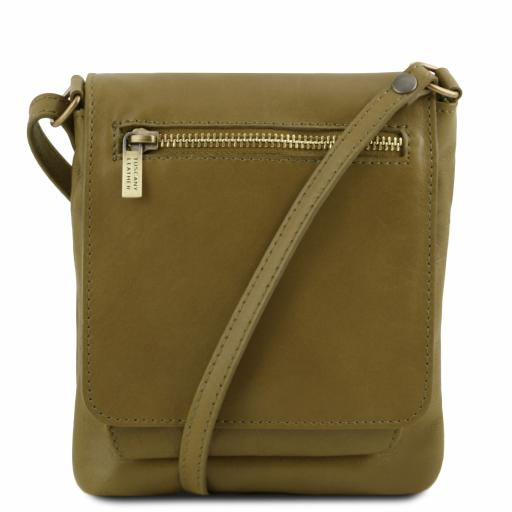 Sasha Unisex soft leather shoulder bag