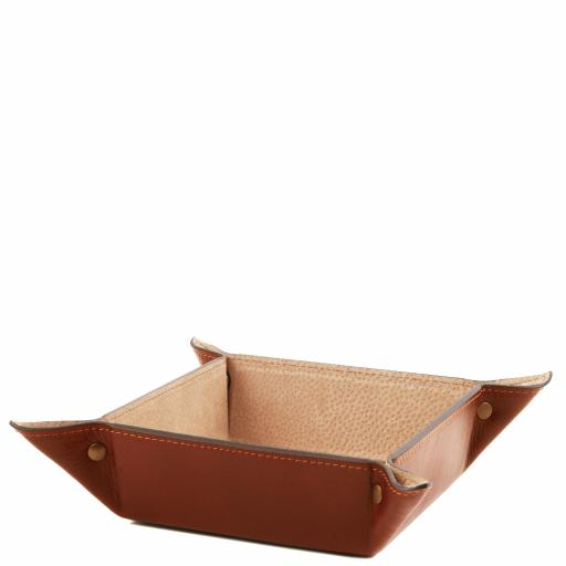 Exclusive leather valet tray Large size