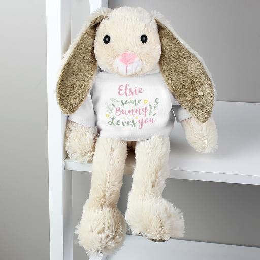 'Some Bunny Loves You' Personalised Bunny