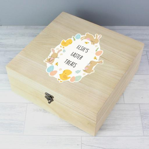 Personalised Easter Keepsake Box